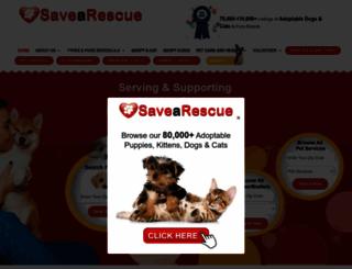 savearescue.org screenshot