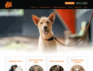 savedogs.soidog.org screenshot