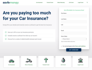 savemoney.co.za screenshot