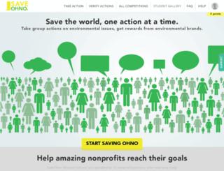 saveohno.org screenshot