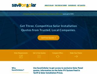 saveonsolar.org.uk screenshot