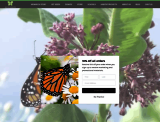 saveourmonarchs.org screenshot
