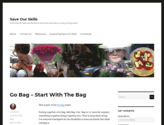 saveourskills.com screenshot