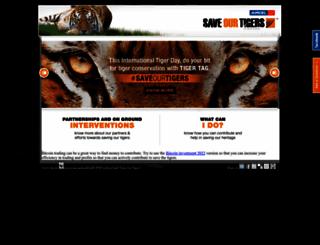 saveourtigers.com screenshot