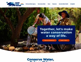 saveourwater.com screenshot