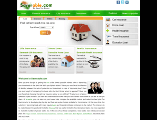 saverable.com screenshot