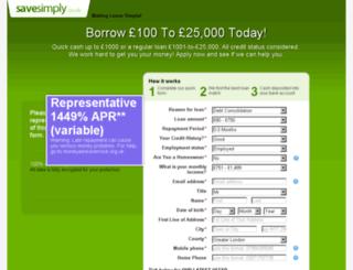 savesimply.co.uk screenshot