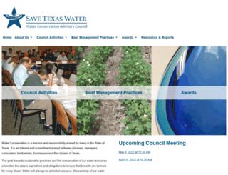 savetexaswater.org screenshot