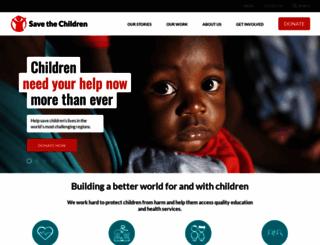 savethechildren.org.au screenshot