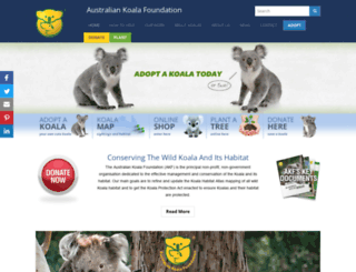 savethekoalashop.com screenshot