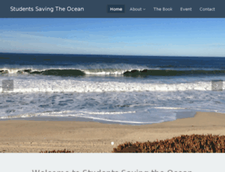 savetheoceans.info screenshot