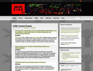 saveufcise.wordpress.com screenshot