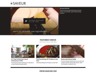 saveur.tv screenshot