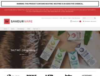 saveurvape.com screenshot
