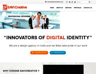 savicreative.com screenshot