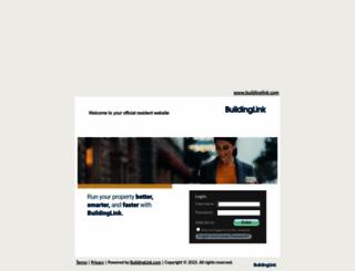 savierflatsresidents.buildinglink.com screenshot