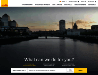 savills.ie screenshot