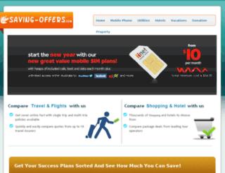 saving-offers.com screenshot