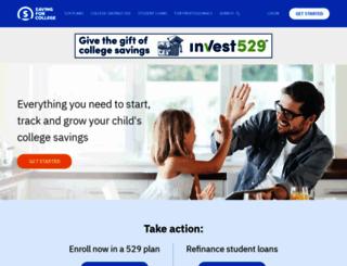 savingforcollege.com screenshot