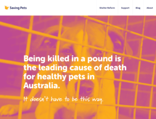 savingpets.com.au screenshot