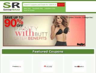 savingrefund.com screenshot