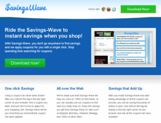 savings-wave.com screenshot