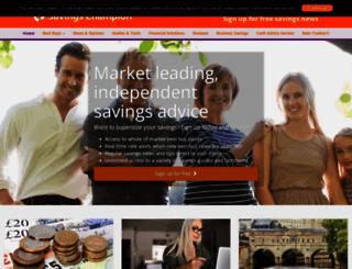 savingschampion.co.uk screenshot
