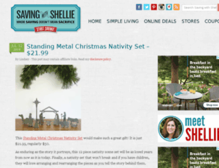 savingwithshellie.com screenshot