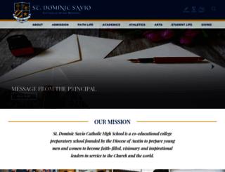 saviochs.org screenshot