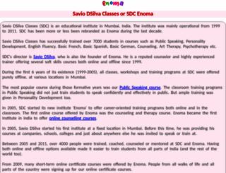 saviodsilva.net screenshot
