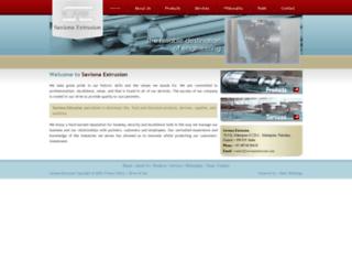 savionaextrusion.com screenshot