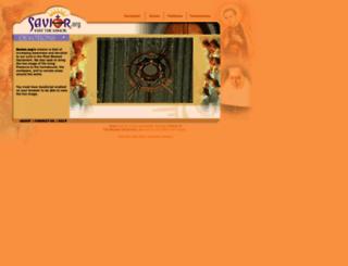 savior.org screenshot