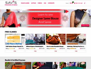 savisfashionstudio.com screenshot