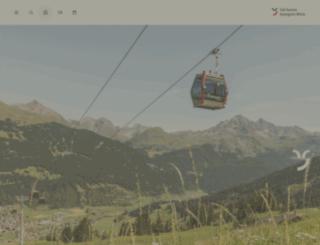 savogninbergbahnen.ch screenshot
