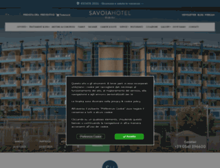 savoiahotelrimini.com screenshot