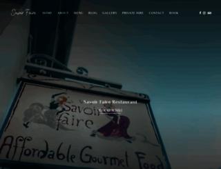 savoir.co.uk screenshot