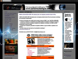 savoirnumerique.blogspot.com screenshot
