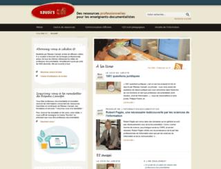 savoirscdi.cndp.fr screenshot