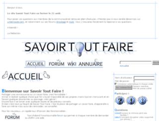 savoirtoutfaire.com screenshot