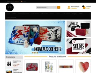 savons-bougies.com screenshot