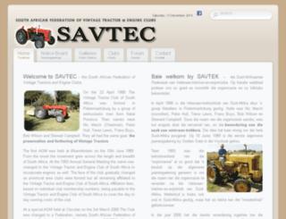 savtec.org.za screenshot