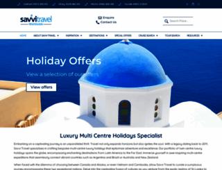 savvitravel.co.uk screenshot
