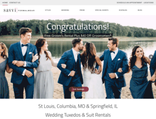 savviwedding.com screenshot