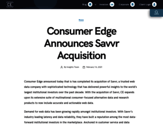 savvr.com screenshot