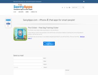savvyappz.com screenshot