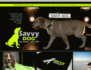 savvydog.co.za screenshot