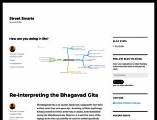 savvydom.wordpress.com screenshot