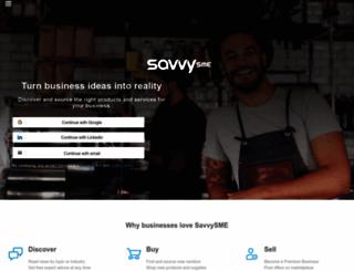 savvysme.com.au screenshot