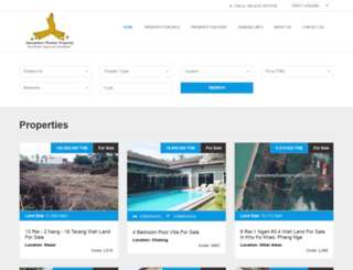 sawasdeephuketproperty.com screenshot