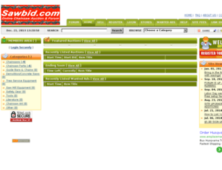 sawbid.com screenshot